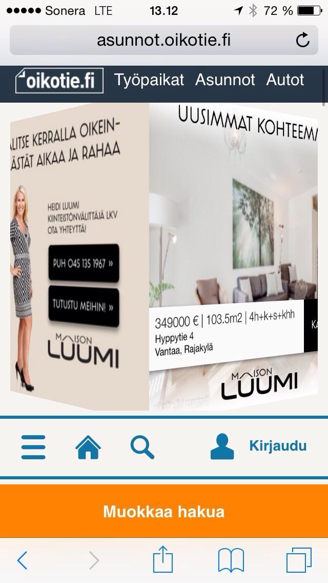 oikotie myytävät Savonlinna